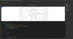 HTML5网页版文字动态时钟特效