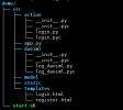Python2.7+Flask框架實現簡單的用戶登錄注冊